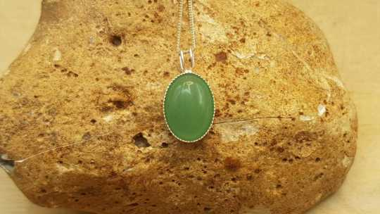Aventurine Necklace 14x10mm