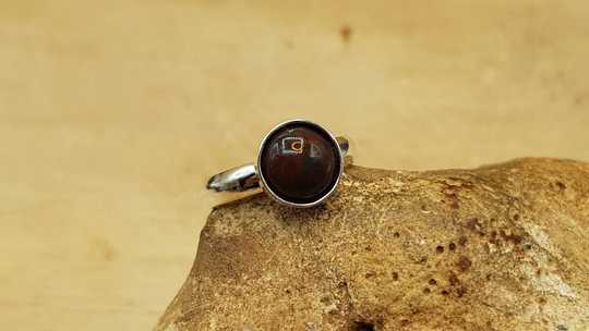 8mm bloodstone ring