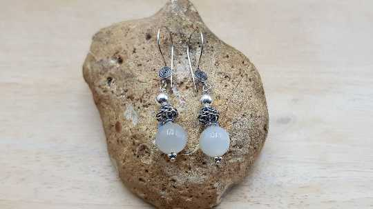 Elegant Moonstone earrings