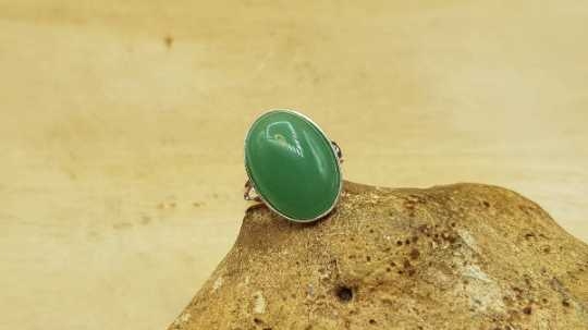 Aventurine ring 18x13mm