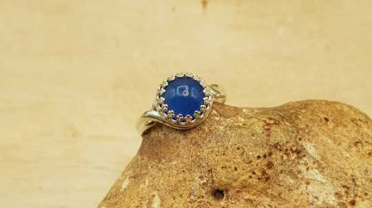 Blue Onyx Ring 10mm